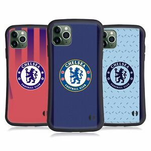 OFFICIAL CHELSEA FOOTBALL CLUB 2020/21 KIT HYBRID CASE FOR APPLE iPHONES PHONES