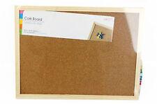 SINGLE SIDE CORK BOARD HOME OFFICE NOTICE MEMO BOARD 21x29.7,60X40,60X90