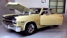 1/24 Burago/maisto CHEVROLET Malibu SS 1965 - Ford Fairlane Thunderbolt 1964