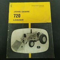 John Deere 720 Loader Operator's Manual OM-U16339U