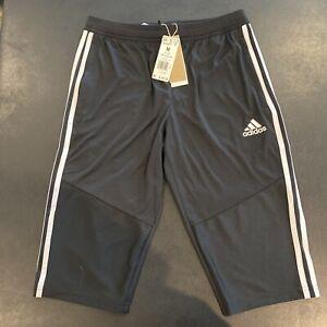 Adidas Mens Soccer Tiro 19 3/4 Training Pants Size Medium