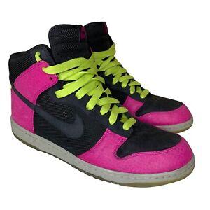Nike Dunk High Supreme Spark 333885-002 Men's Size 12 Pink Black 2008