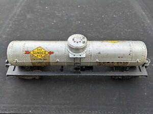 Lionel 2555 Sunoco 1-Dome Tank Car