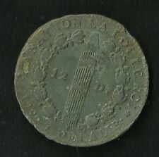 12 Deniers 1792 A MDC ; An 3 ; Plus Rare