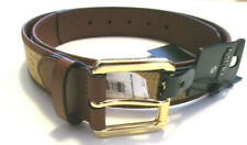 Polo Ralph Lauren Men's Belt, New Beige Genuine Leather Sz S 30-32