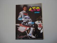 advertising Pubblicità 1989 AXO e YAMAHA YZ 125