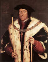 Nice Oil painting male portrait Thomas Howard Prince of Norfolk canvas