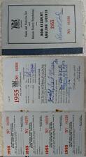 1955 Non-Resident Angling License Ontario Canada