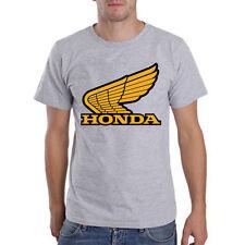 Genuine Honda Extreme Racing Biker CBR Superbike Steetwear Grey Men Tee T-Shirt