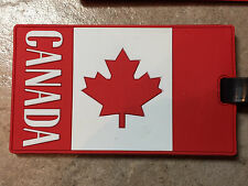 Canada Flag Luggage Tag - to Look Like You are a Canadian!