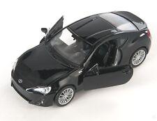 BLITZ VERSAND Toyota 86 schwarz / black Welly Modell Auto 1:34-39 NEU & OVP