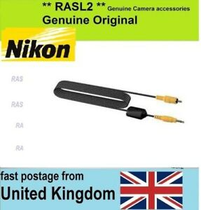 Genuine Nikon EG-D100 Video Cable D3000 D100 D200 D300 D700 D800e D70 D2 H S X