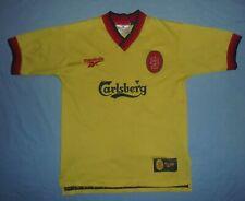 Liverpool FC / 1997-1999 Away - REEBOK - VTG JUNIOR Shirt / Jersey. Size: YTHS