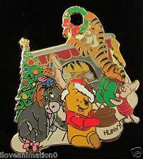 Disney Wdw Winnie the Pooh Happy Holidays Pin *