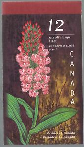 Canada 1790a 1999 Orchids Paintings Complete Booklet Cat $11.50  G6037