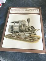 On3,On30,SN3,HOn3 NARROW GAUGE AND SHORT LINE GAZETTE MAGAZINE MARCH/APRIL 1988