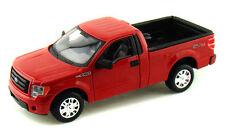 2010 Ford F-150 STX Pickup 1/27 Diecast Replica Model Truck Red Maisto 31270