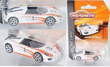 Majorette 212084009 Porsche 918 Spyder weiß, 3, Nr. 12/18, ca. 1:61, RACING CARS