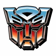 New Funky Chunky Magnet * Autobots Logo * Symbol Transformers Animated Cartoon