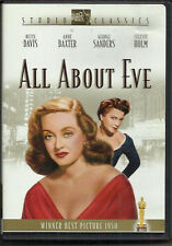 All About Eve (Dvd) drama Bette Davis Fox Studio Classics
