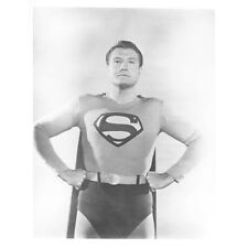 George Reeves as Superman with Hands on Hips 8 x 10 Inch Photo