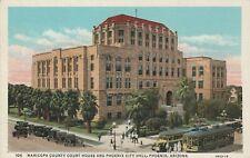 (Z)  Phoenix, AZ - Maricopa County Court House and Phoenix City Hall - Exteriors