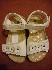 John Lewis white sandals Size 10 / 11 new