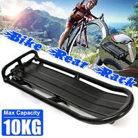 UK Bicycle Mountain Bike Rear Rack Seat Post Mounted Pannier Luggage Carrier Bag