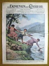 La Domenica del Corriere 28 maggio 1933 Bergamo - Marsiglia - Marco Polo