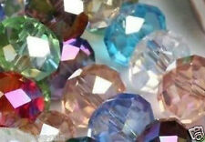 50pcs Crystal Loose Beads 10X12mm Multicolor A37