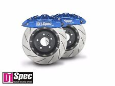 Rear GT Anodized Blue Forged Big Brake 4pots Caliper 355mm 2PCS Disc for BMW F30