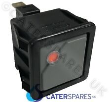 SQUARE ON OFF PUSH BUTTON SWITCH WITH INDICATOR GREY / RED 1 NO 16A 230V 28X28MM