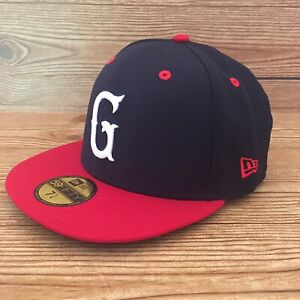 Greenville Drive New Era 59FIFTY 7 1/4 Fitted Cap Navy ON FIELD HAT MiLB Red Sox