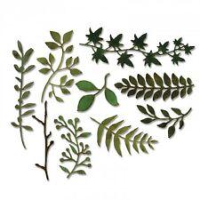Sizzix Thinlits Troquelado conjunto PK muere Jardín verdes 661206