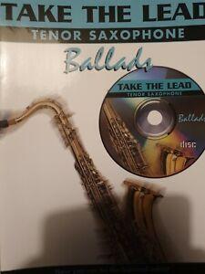 Take the Lead Tenor Saxophone Ballads with CD - Sheet Music