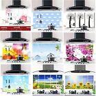 Aluminum Decor Foil Decals Kitchen Wall Paper 45CM*75CM Oil proof Stickers WFAU