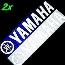 Yamaha REFLECTIVE WHITE 5in 12cm decals fazer r 1 6 fz 8 16 keyboard racing m r3
