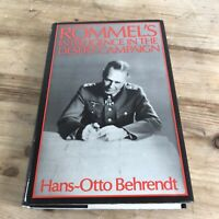 Rommel's Intelligence in the Desert Campaign 1941-1943 by Hans-Otto Behrendt