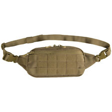 Mil-Tec Fanny Pack Waist Bag Fishing Travel Outdoor Belt Security Dark Coyote