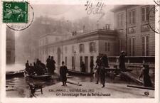 CPA PARIS INONDATION 1910. 536 Un Sauvetage Rue de Bellechasse (562042)