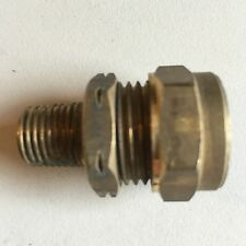 """WADE BRASS COMPRESSION FITTINGS - 15mm Copper To 1/4"""" Bsp Male Taper Nuts Olives"""