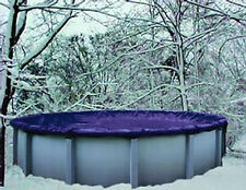 21' Round Above Ground Winter Swimming Pool Solid Cover 15 Yr Warranty solid New