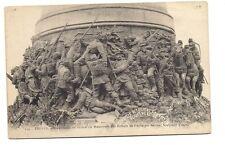 troyes  haut-releif en broze du monument des enfants de l'aube par briden