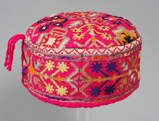 hand embroidered Women's Caps and Ceremonial Headdress Gilgit-Baltistan No:21/A
