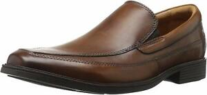Clarks Men's Tilden Free Slip-On Dark Tan Loafer NW/OB