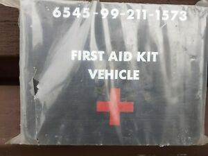 Military vehicle first aid kit