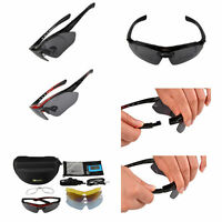 ROCKBROS Cycling Outdoor Sports Goggles Bike Polarized Glasses Sunglasses 5 Lens