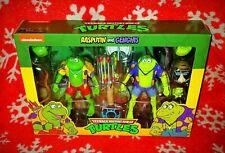 NECA TMNT Rasputin & Genghis Teenage Mutant Ninja Turtles NEW NIB Nickelodeon 🔥