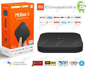 Xiaomi Android Smart TV Box 4K WiFI  Netflix Primevideo Dazn NowTV Disney Google
