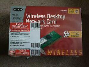 Belkin - WIRELESS DESKTOP NETWORK CARD